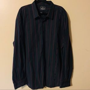 Marc Ecko stripe shirt Size 3XL